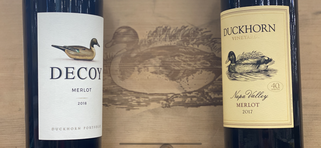 Duckhorn Merlot vs Decoy Merlot in Blind Tasting