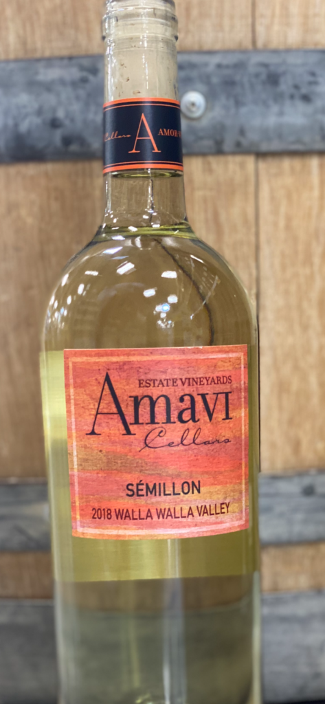 2018 Amavi Sémillon