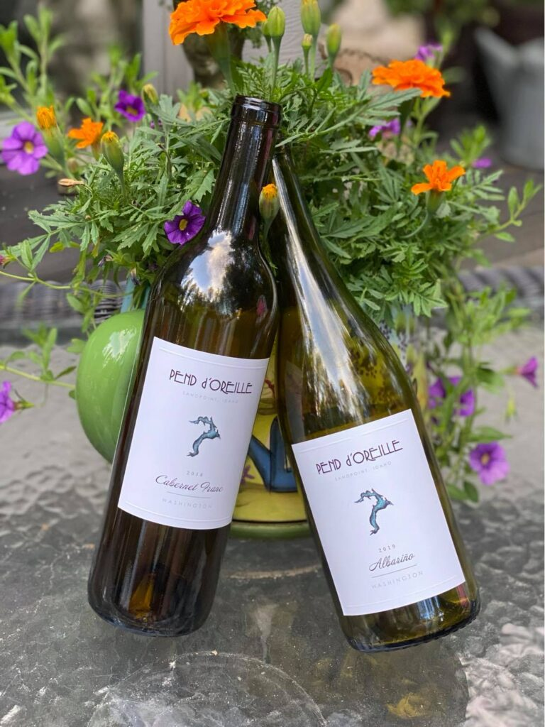 Episode 13 – Albariño & Cabernet Franc from Pend D' Oreille Winery
