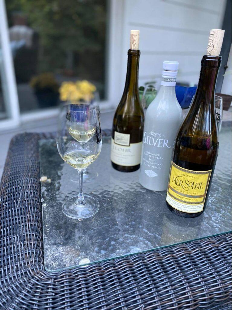 Mer Soleil and J. Lohr Chardonnay's