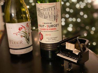 Episode 34 – Beef Wellington Wine Pairings – 2018 Fleur de California Pinot Noir & 2015 Chateau Haut-Surget Lalande-de-Pomerol
