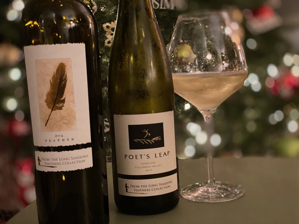 Episode 36 – It's a Very merry Christmas with a 2017 Poet's Leap and 2014 Feather from the Long Shadows Vintners Collection