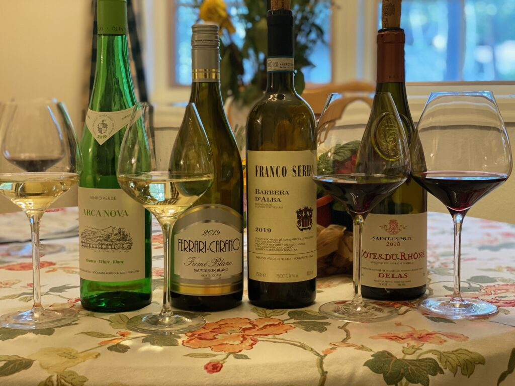 Episode 51 – Summer Wines: Two Whites & Two Reds for Under 15 Bucks a Bottle