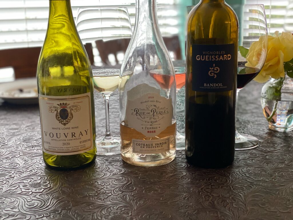 Episode 61 – Red, White & Rosé with the Mann's – Wines to Celebrate the 4th With