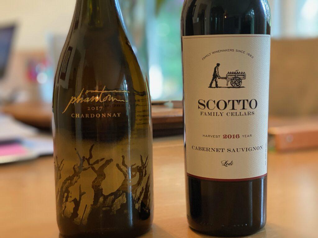 Episode 73 – A Phantom Chardonnay and Scotto Family Cellars Cabernet Sauvignon
