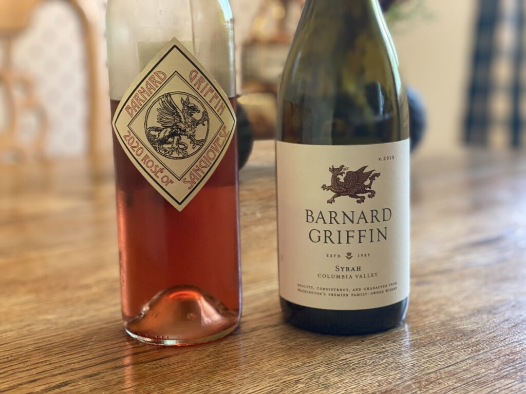 Episode 78 – Enjoying a Rosé of Sangiovese and a Syrah from Barnard Griffin